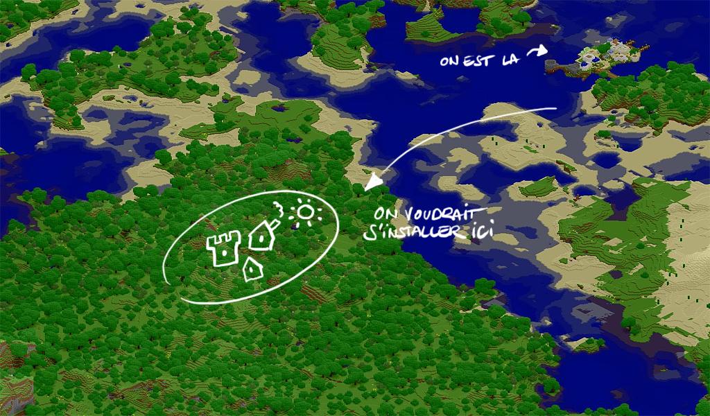 Village grec Plan_projet_puycelsi